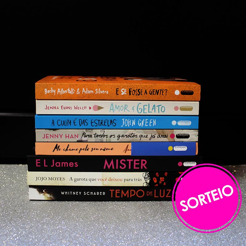 Sorteio Facebook – Romances [ENCERRADO]