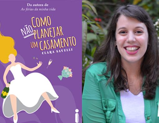 Hora de embarcar no novo livro de Clara Savelli