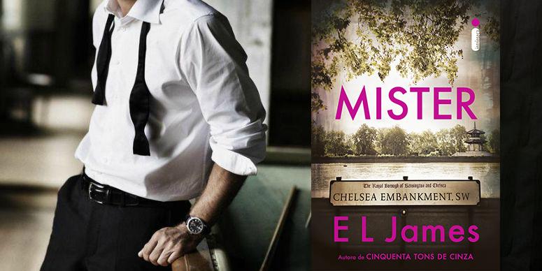 O que esperar de Mister, o novo protagonista de E L James