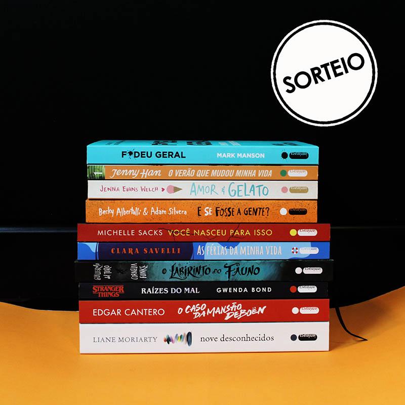Sorteio Instagram – Leituras das férias