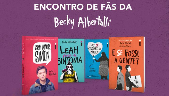 Encontro de fãs da Becky Albertalli pelo Brasil