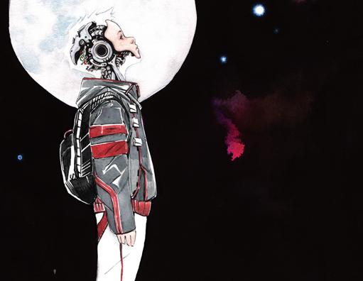 Humanos e máquinas estão em guerra em Descender, novo quadrinho de Jeff Lemire
