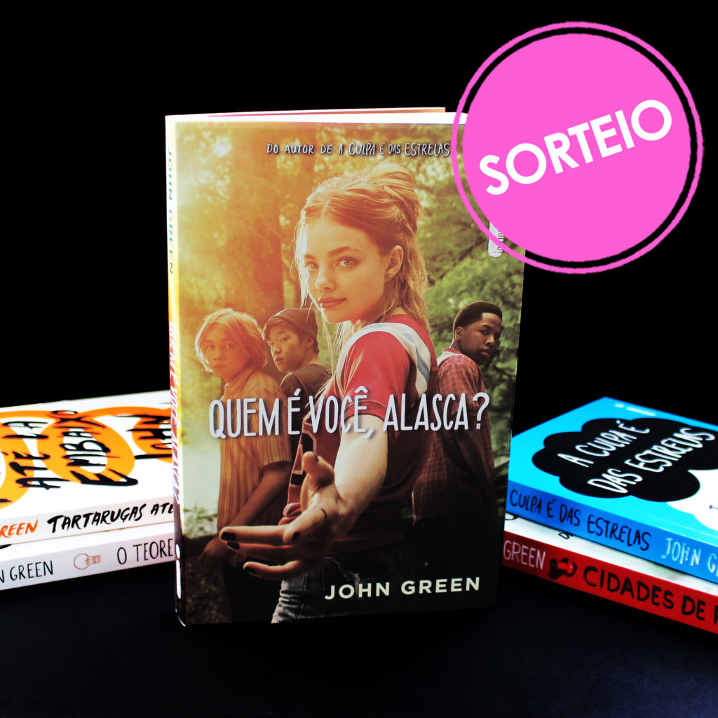 Sorteio Instagram – Kit John Green