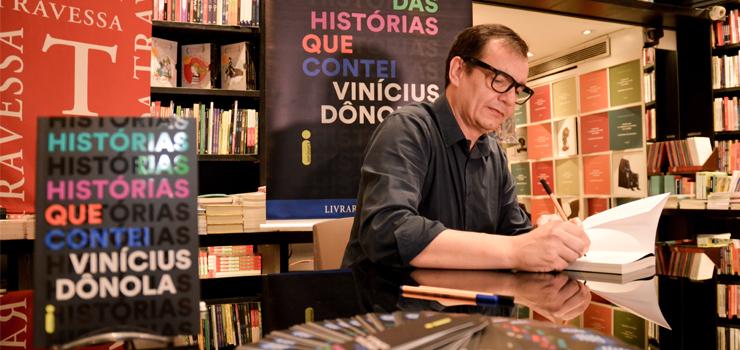 """Confira as fotos do lançamento de """"Histórias das histórias que contei"""" no Rio de Janeiro"""