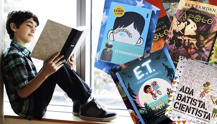 Dicas de livros perfeitos para o mês das crianças