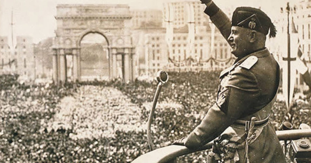 Romance sobre Mussolini revela as origens do fascismo no século XX