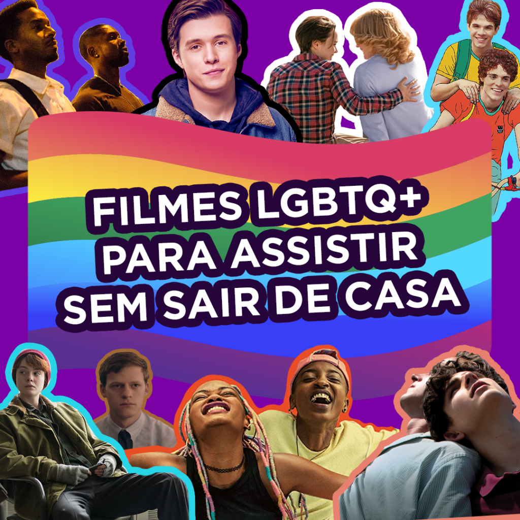 Filmes LGBTQ+ para assistir sem sair de casa