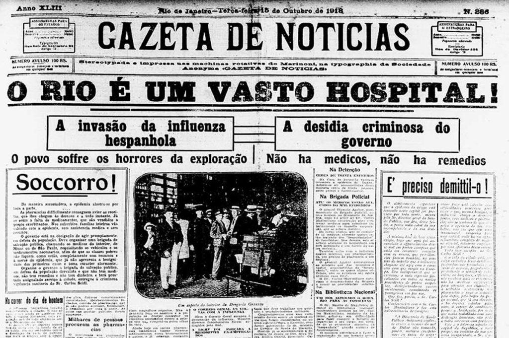 Livro sobre a gripe espanhola chega às livrarias em maio