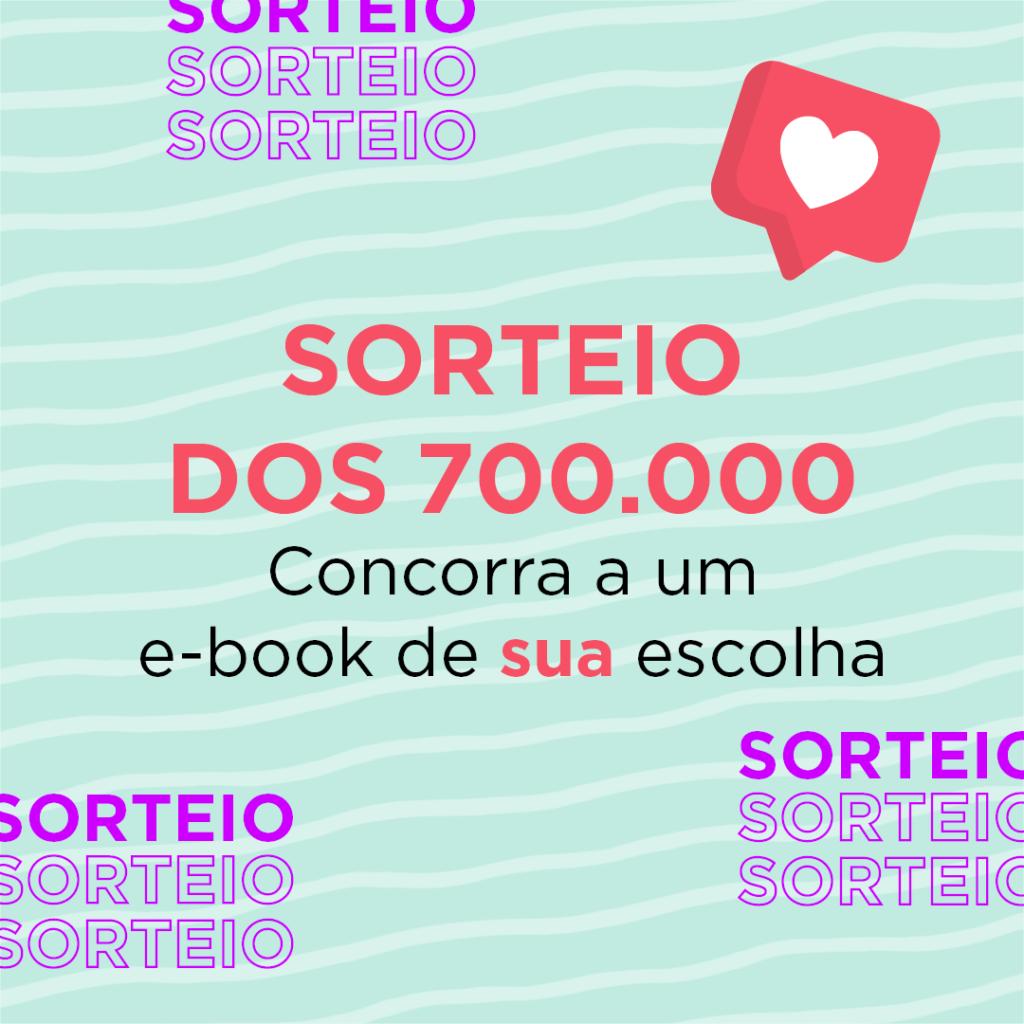 Sorteio Instagram – 700.000 seguidores [ENCERRADO]
