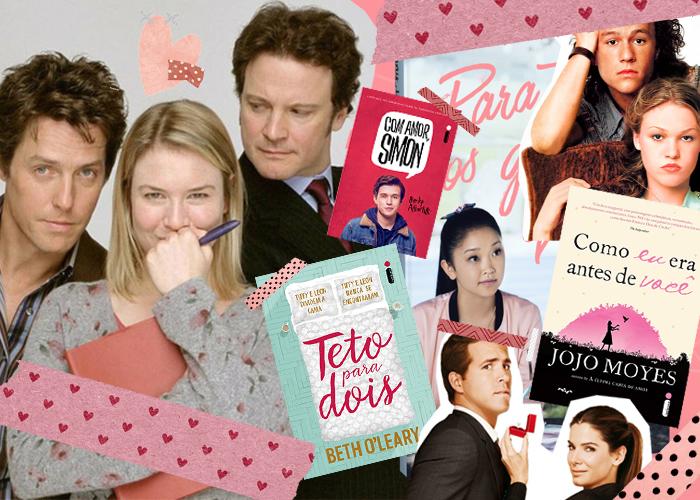 Para cada comédia romântica que você ama, há um livro que combina perfeitamente