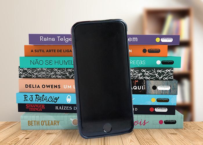 Delivery Leitura: compre seu livro preferido por telefone e sem sair de casa