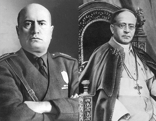 Continuação de M, o filho do século explora a aliança entre o fascismo e a Igreja