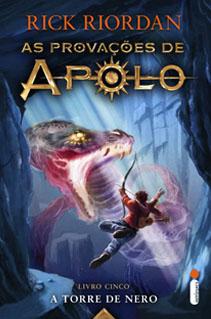 Confira a data de lançamento e a capa do último volume de As provações de Apolo