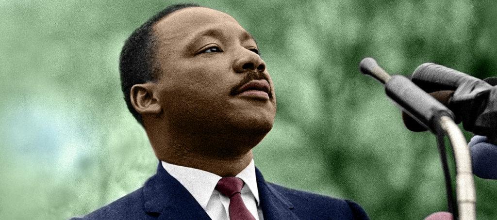 Quem não gostaria de conversar com Martin Luther King Jr?