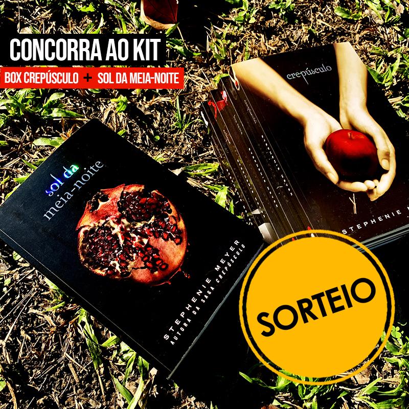 Sorteio Facebook – Kit box Crepúsculo + Sol da meia-noite [ENCERRADO]