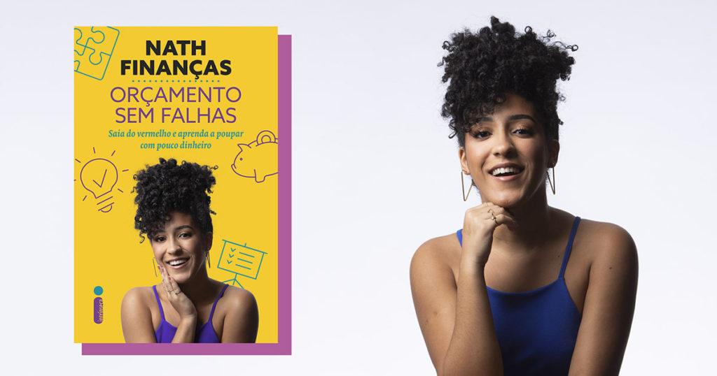 """Livro de Nath Finanças, """"Orçamento sem falhas"""", chega às lojas em janeiro"""