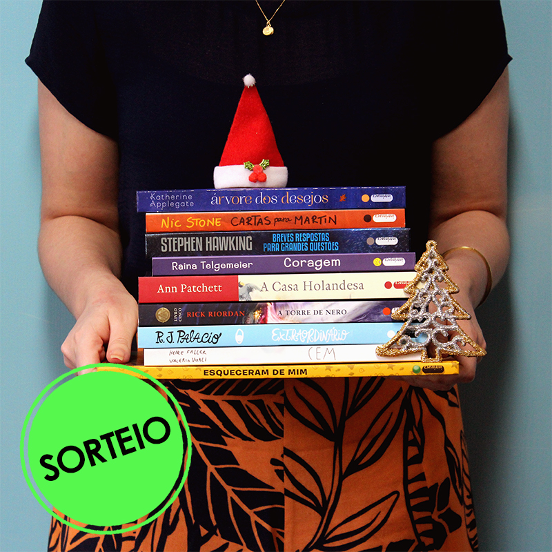 Sorteio Facebook – Natal com livros [Encerrado]