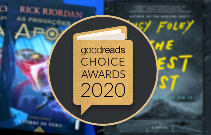 Conheça os livros da Intrínseca vencedores do Goodreads Choice Awards