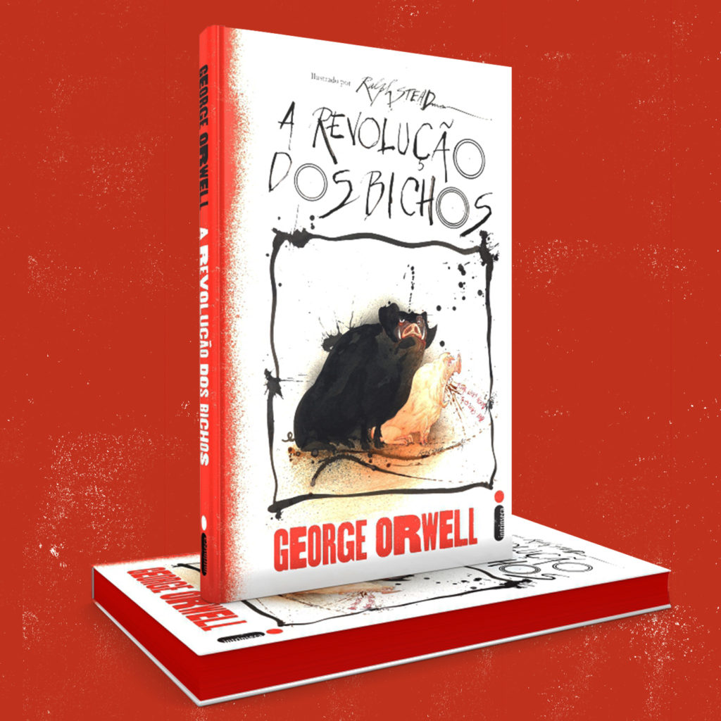 Intrínseca lança clássico de George Orwell em edição especial ilustrada