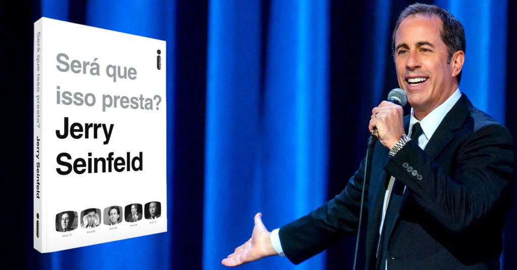 Será que isso presta? Jerry Seinfeld revisita sua carreira em novo livro