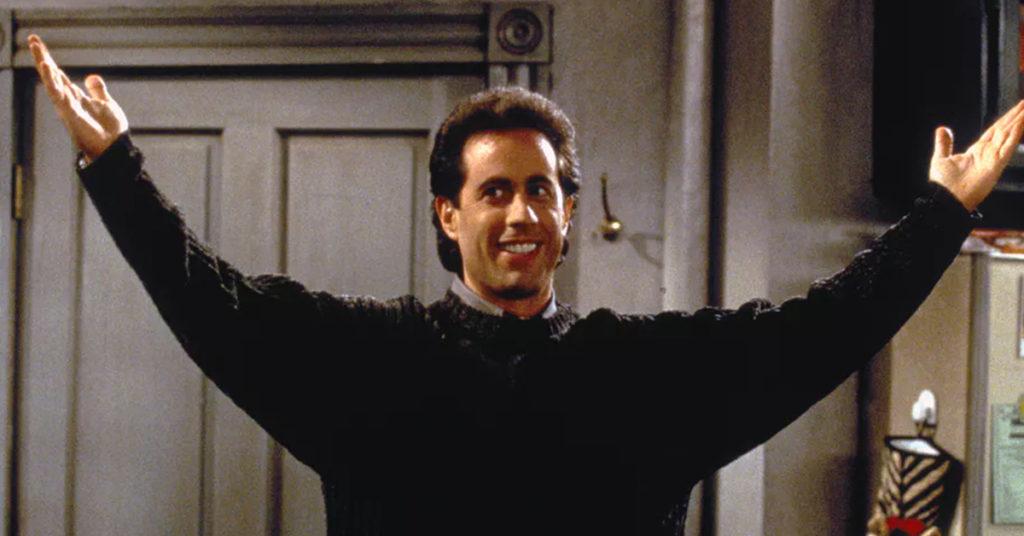 Jerry Seinfeld é o maior gênio vivo da comédia e eu posso provar