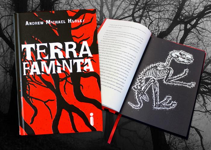 Terra faminta, terror psicológico em edição ilustrada, chega em maio