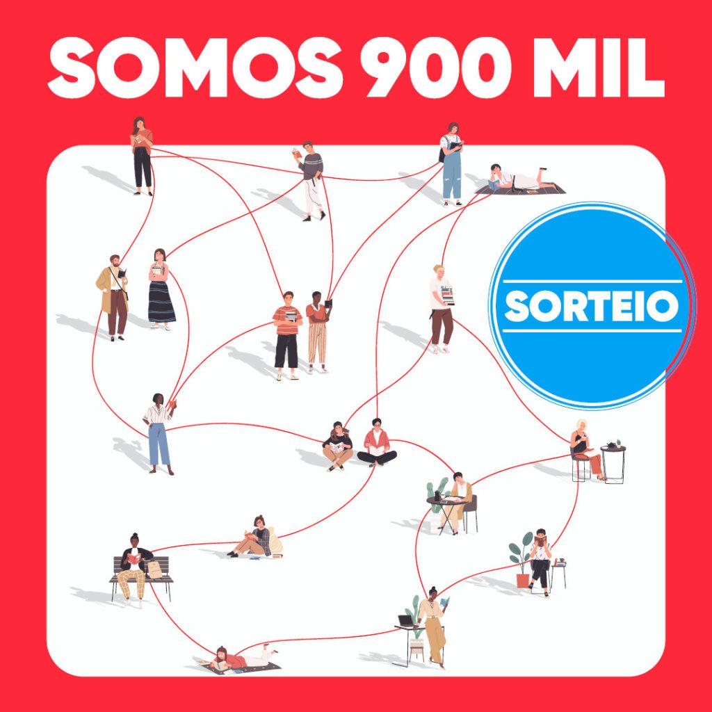 Sorteio Instagram  – 900 mil