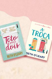 5 semelhanças entre Teto para dois e A troca, comédias românticas de Beth O'Leary