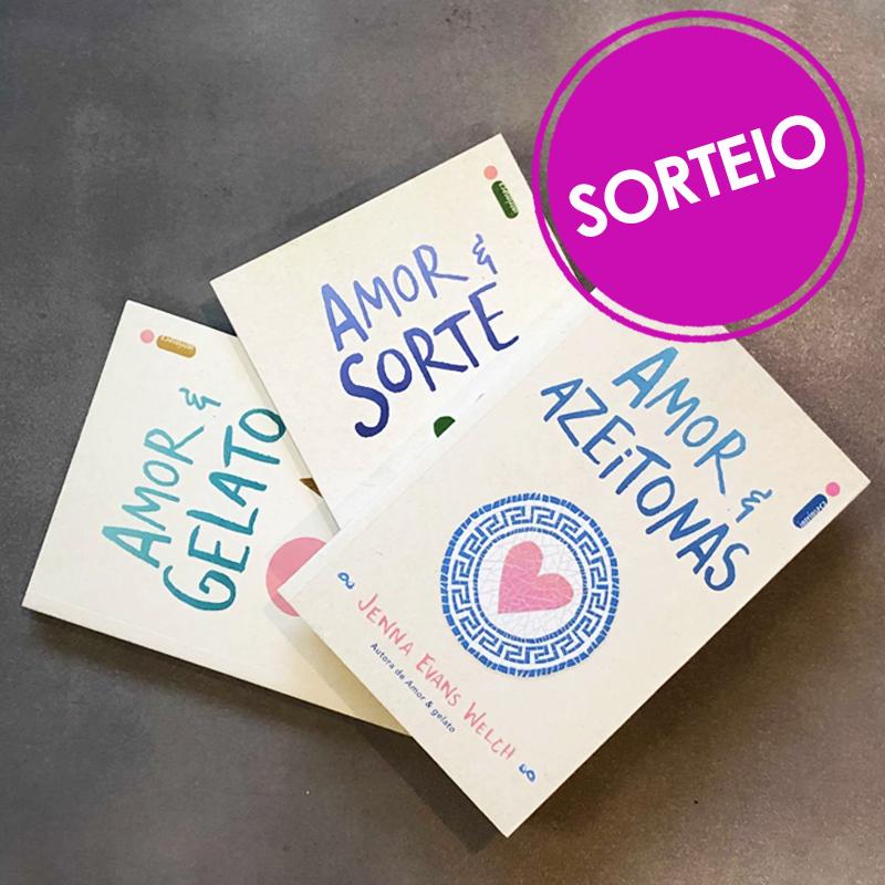 Sorteio Facebook – Amor & Livros [ENCERRADO]