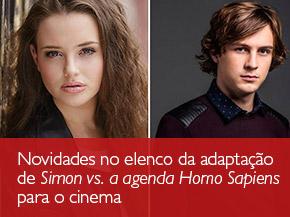 Novidades no elenco da adaptação de Simon vs. a agenda Homo Sapiens para o cinema