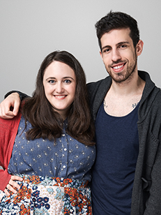 Becky Albertalli e Adam Silvera