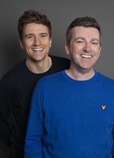 Greg James e Chris Smith