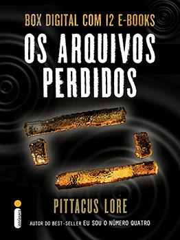 Os Arquivos Perdidos: box digital com 12 e-books (Série Os Legados de Lorien)