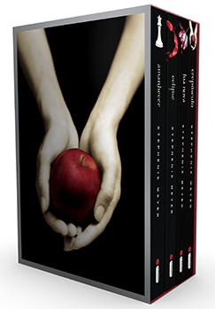 Box da série Crepúsculo