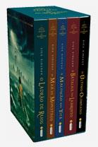 Box da série Percy Jackson e os Olimpianos