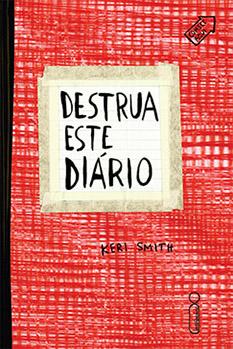 Destrua este diário - capa vermelha