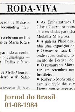 Jornal do Brasil, 01-08-1984