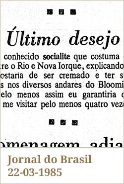 Jornal do Brasil, 22-03-1985