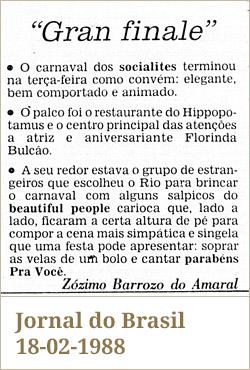 Jornal do Brasil, 18-02-1988