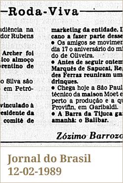Jornal do Brasil, 12-02-1989