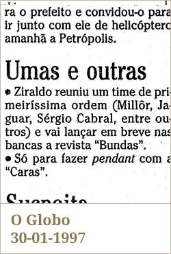 O Globo, 30-01-1997